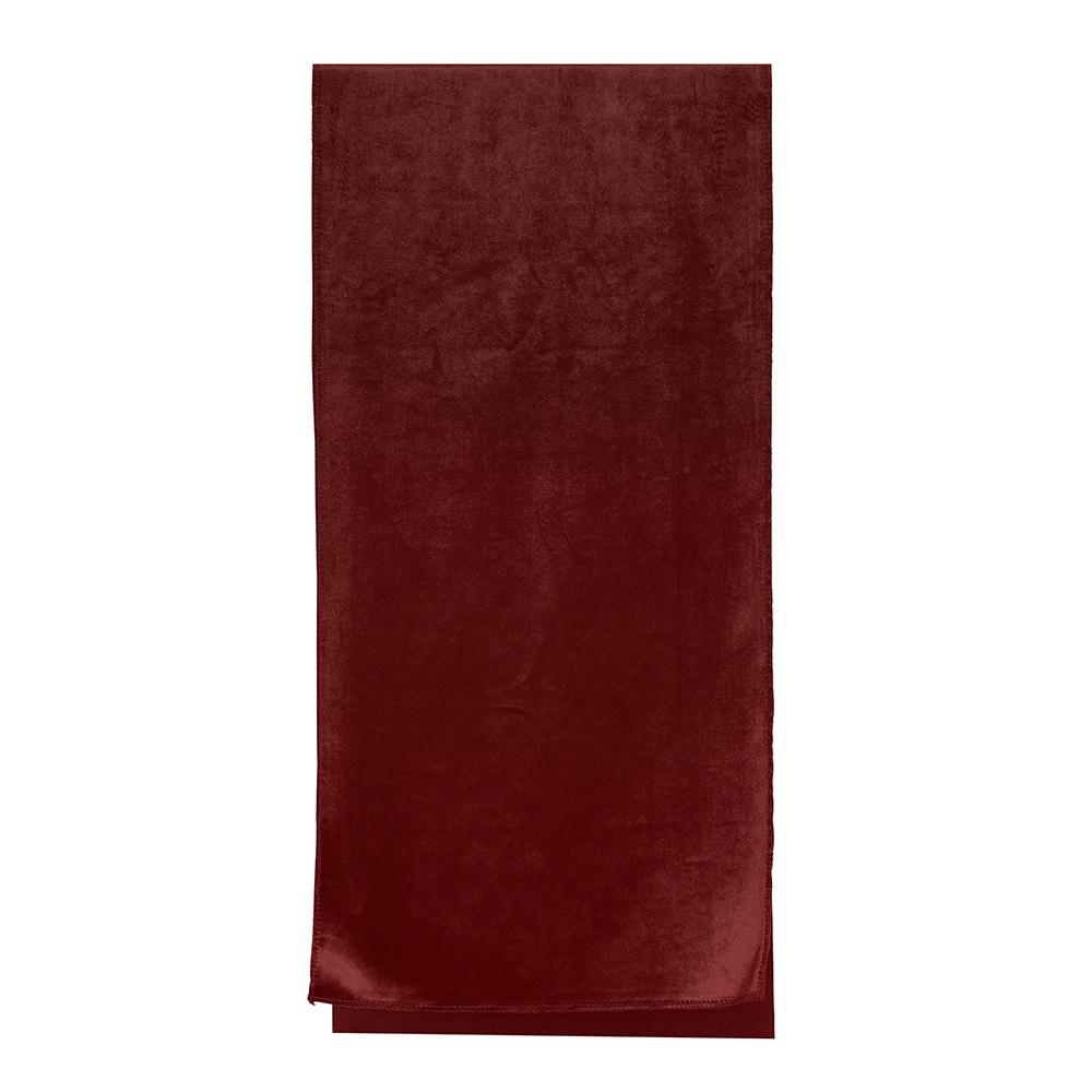 Luxury Burgundy Velvet Table Runner - My Christmas