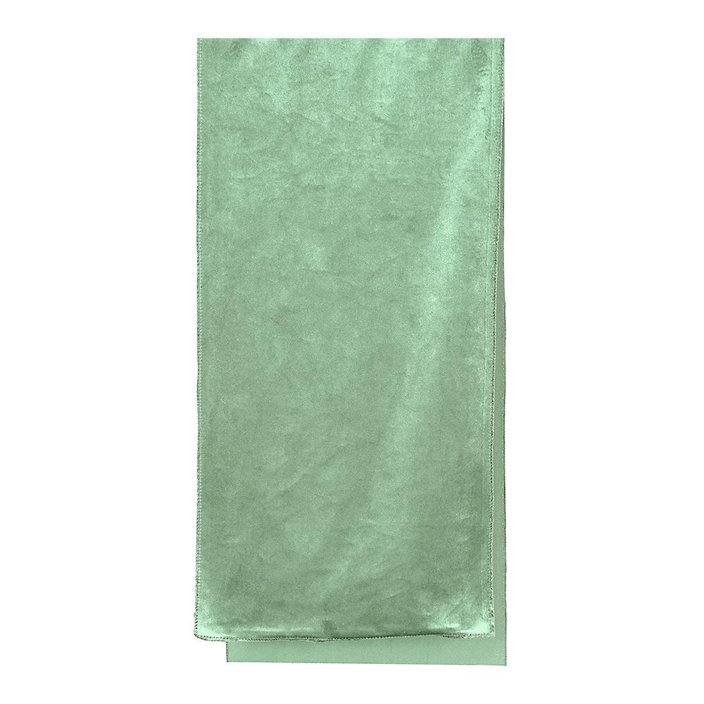 Luxury Mint Velvet Table Runner - My Christmas