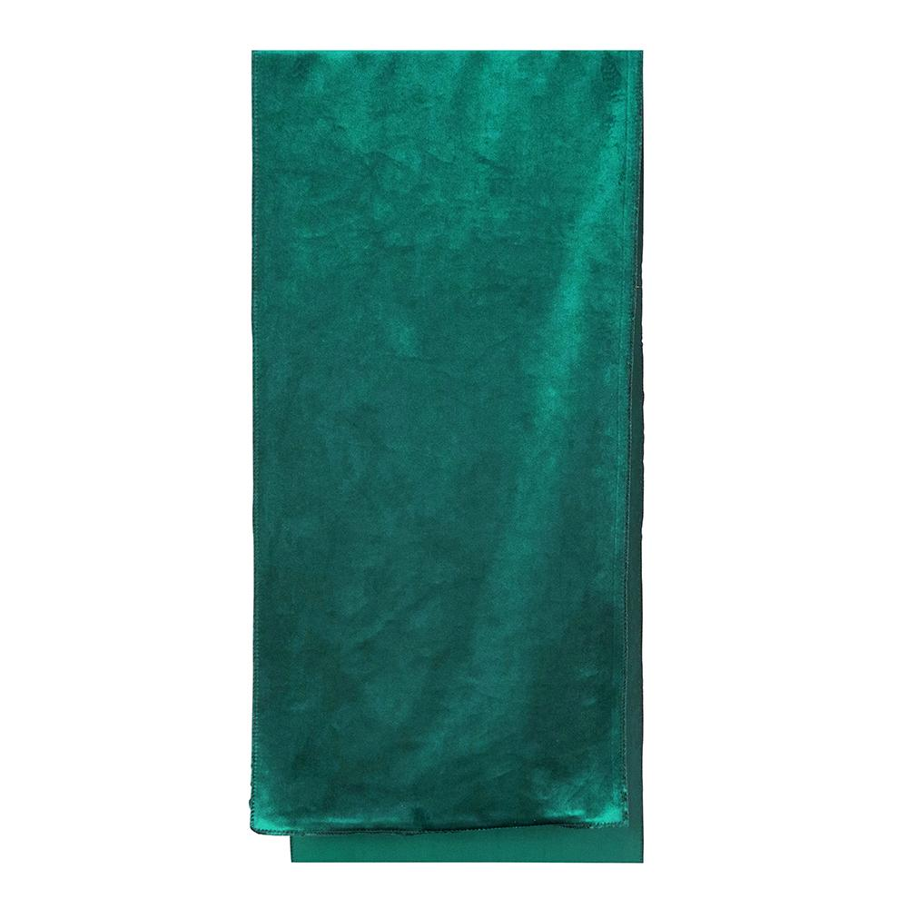 Luxury Teal Velvet Table Runner - My Christmas