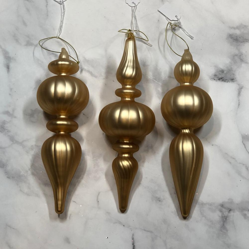Matte Gold Ornament - My Christmas