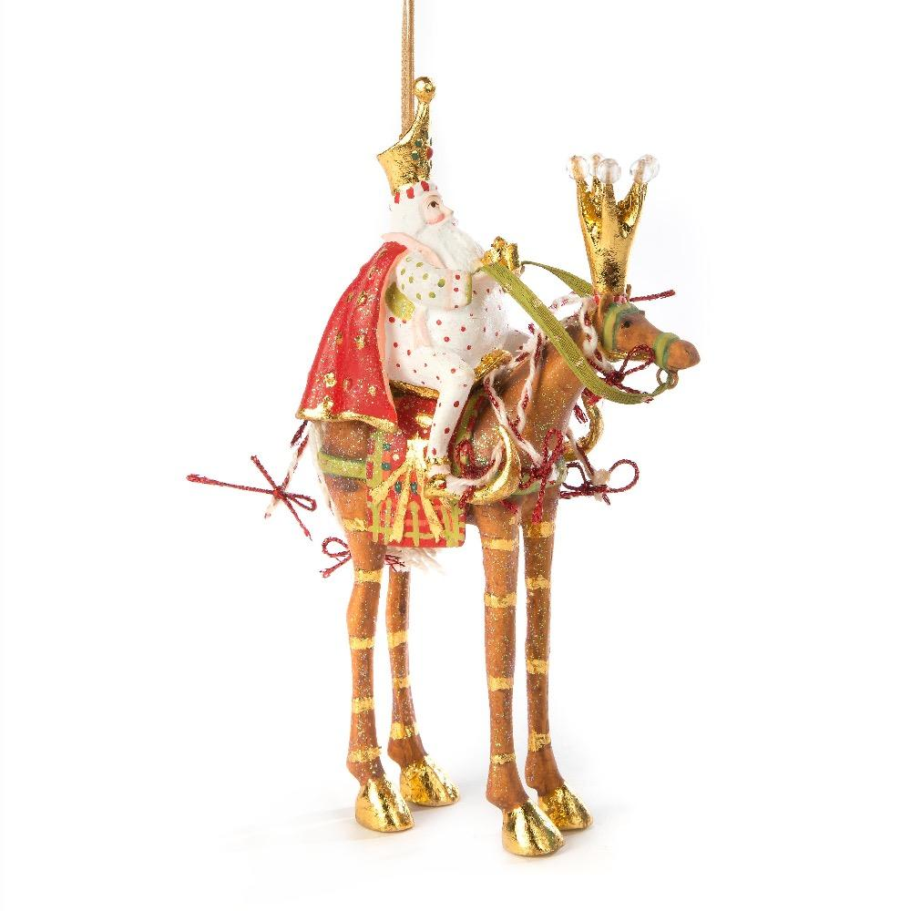 Melchior On Horse Ornament - My Christmas