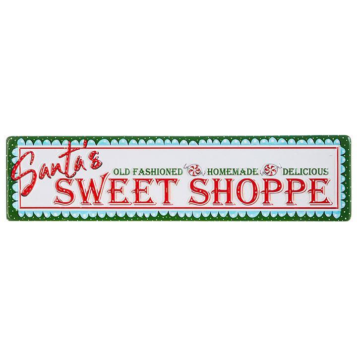 Metal Sweet Shoppe Sign - My Christmas