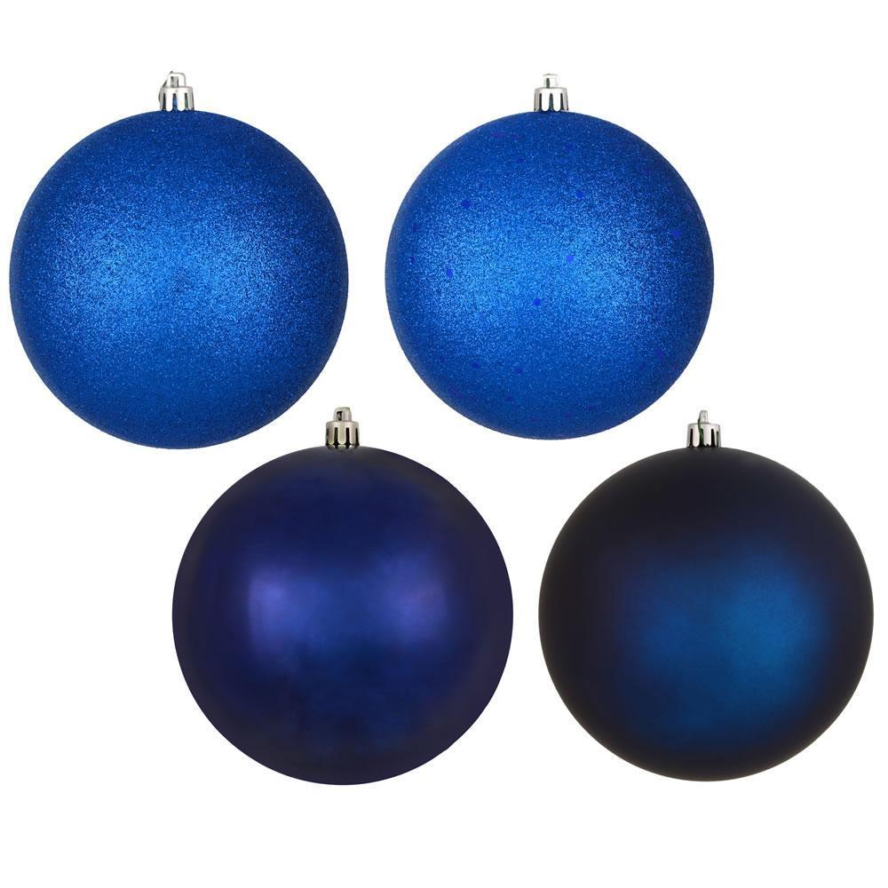 Midnight Blue, 4 Finish Pack Of 20 Ball - My Christmas