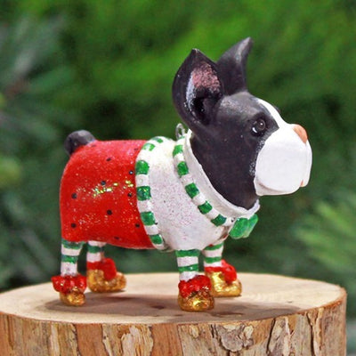 Mini Boston Terrier H/O - My Christmas