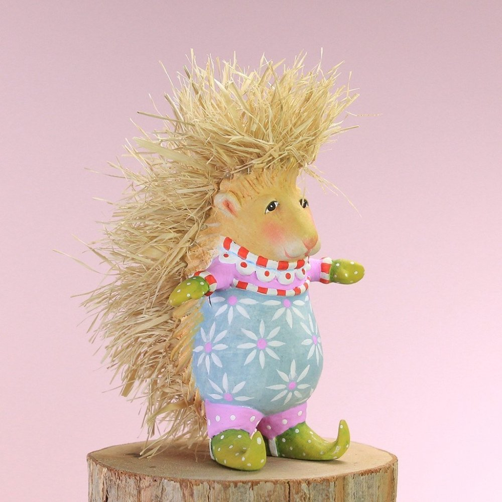 Mini Pansy Porcupine Ornament - My Christmas