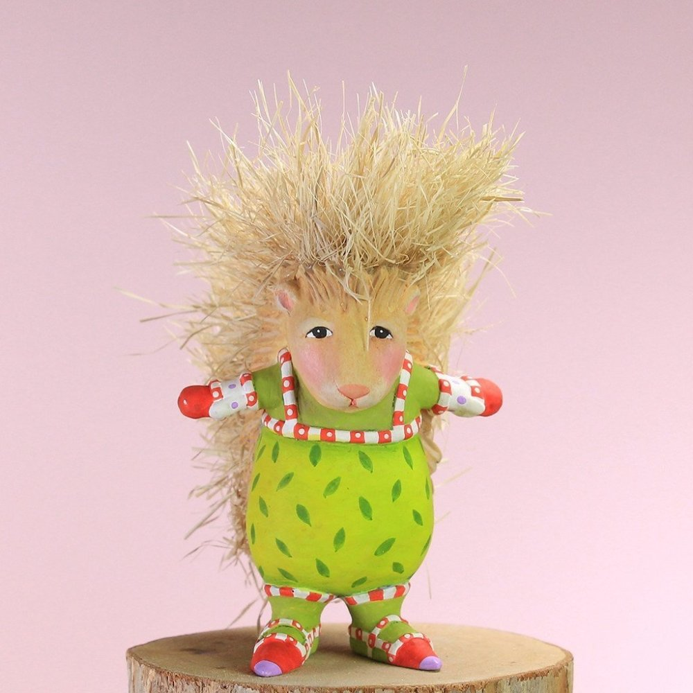 Mini Peety Porcupine Ornament - My Christmas