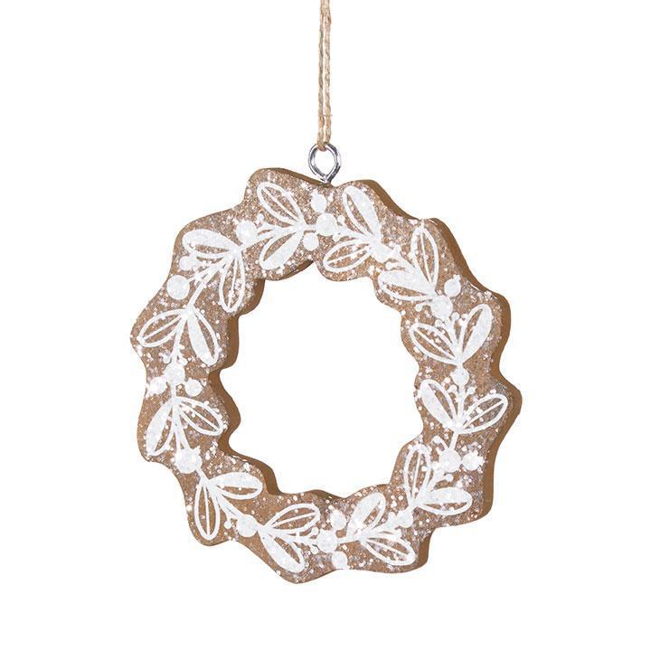 Mistletoe Wreath Hanging Ornament - My Christmas