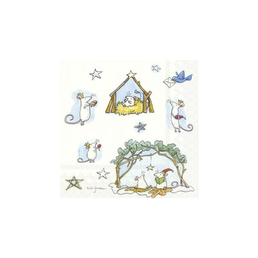Mouse Crib Napkin - My Christmas