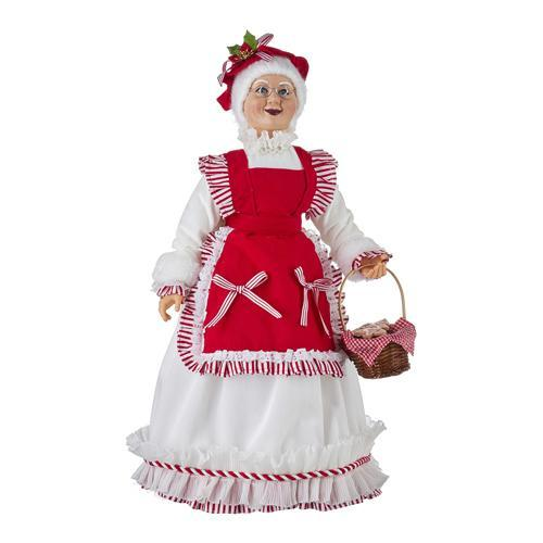 Mrs Claus with Cookies - My Christmas