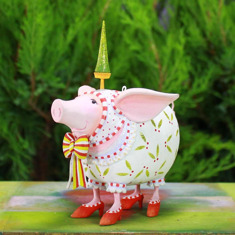 Nanette Pig Ornament - My Christmas