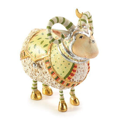 Nativity Manger Ram Figure - My Christmas