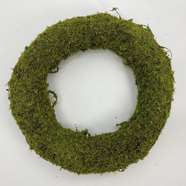 Natural Moss Wreath - My Christmas