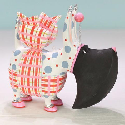 NEW - Agnes Plaid Scottie Ornament - My Christmas