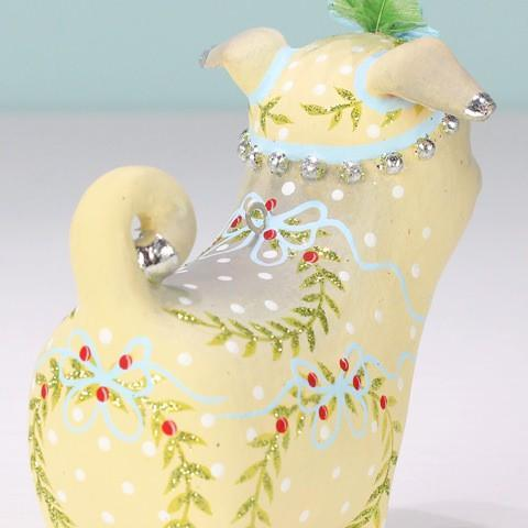 NEW - Prudence Pug Ornament - My Christmas