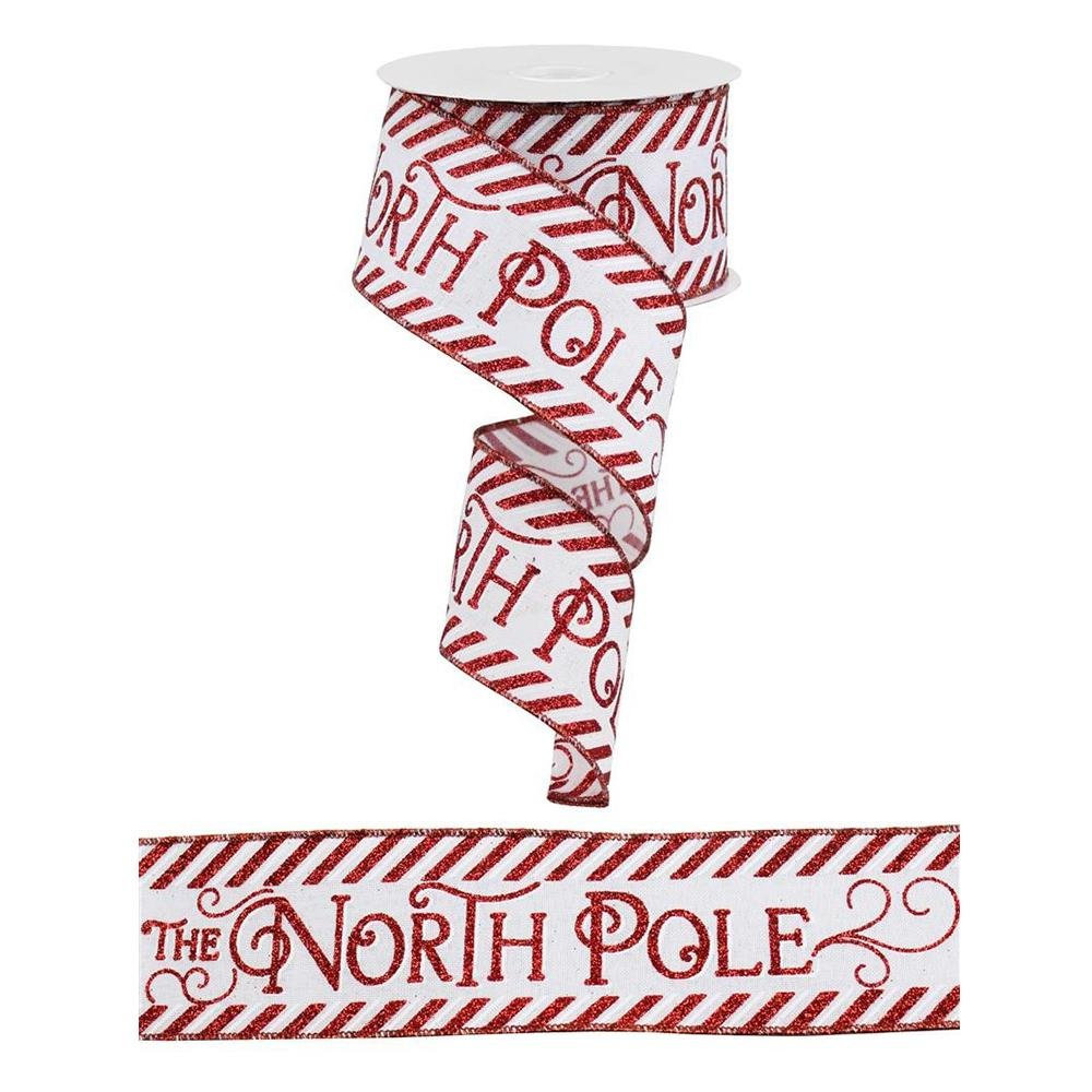 North Pole Ribbon - My Christmas
