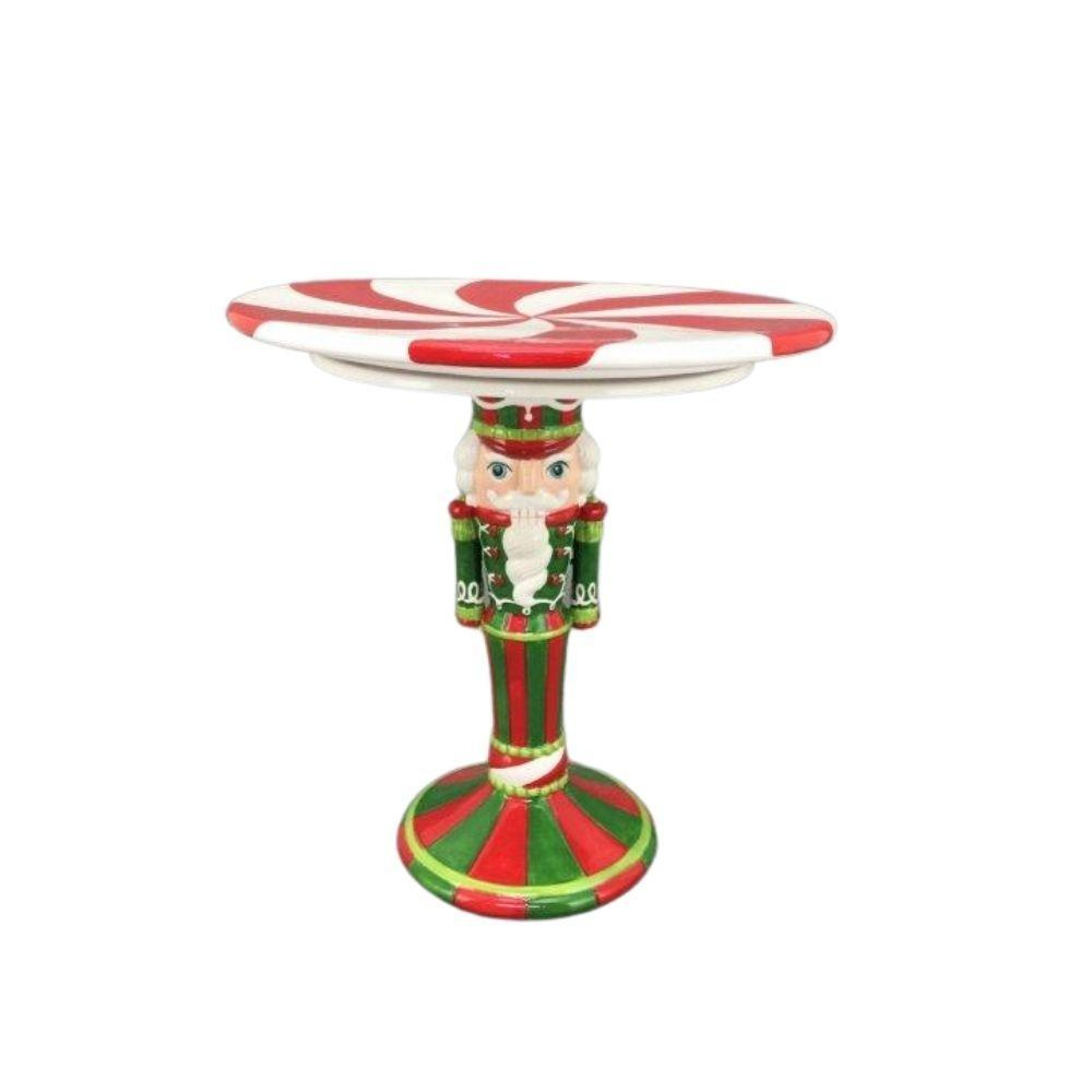 Nutcracker Cake Plate - My Christmas