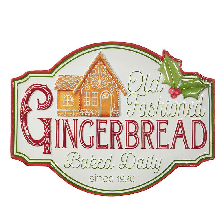 Old Fashioned Gingerbread Sign - My Christmas
