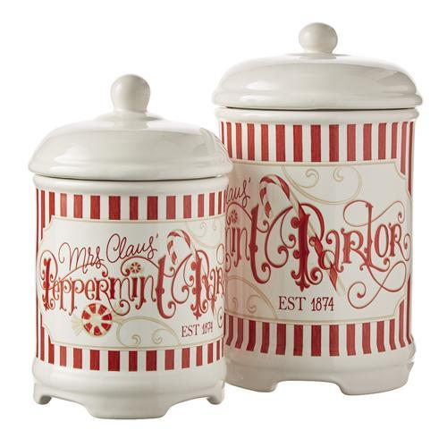 Pair of Canisters - My Christmas