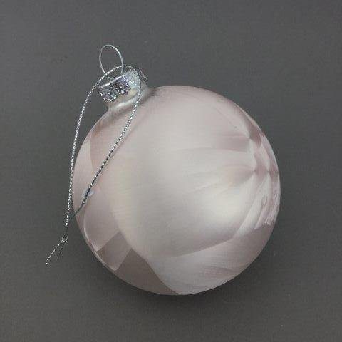 Pale Pink Vivid Ball - My Christmas