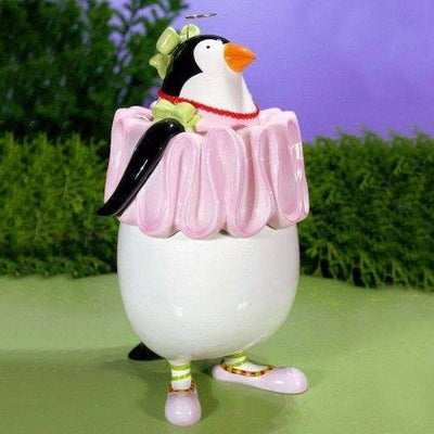 Penguin Cookie Jar - My Christmas