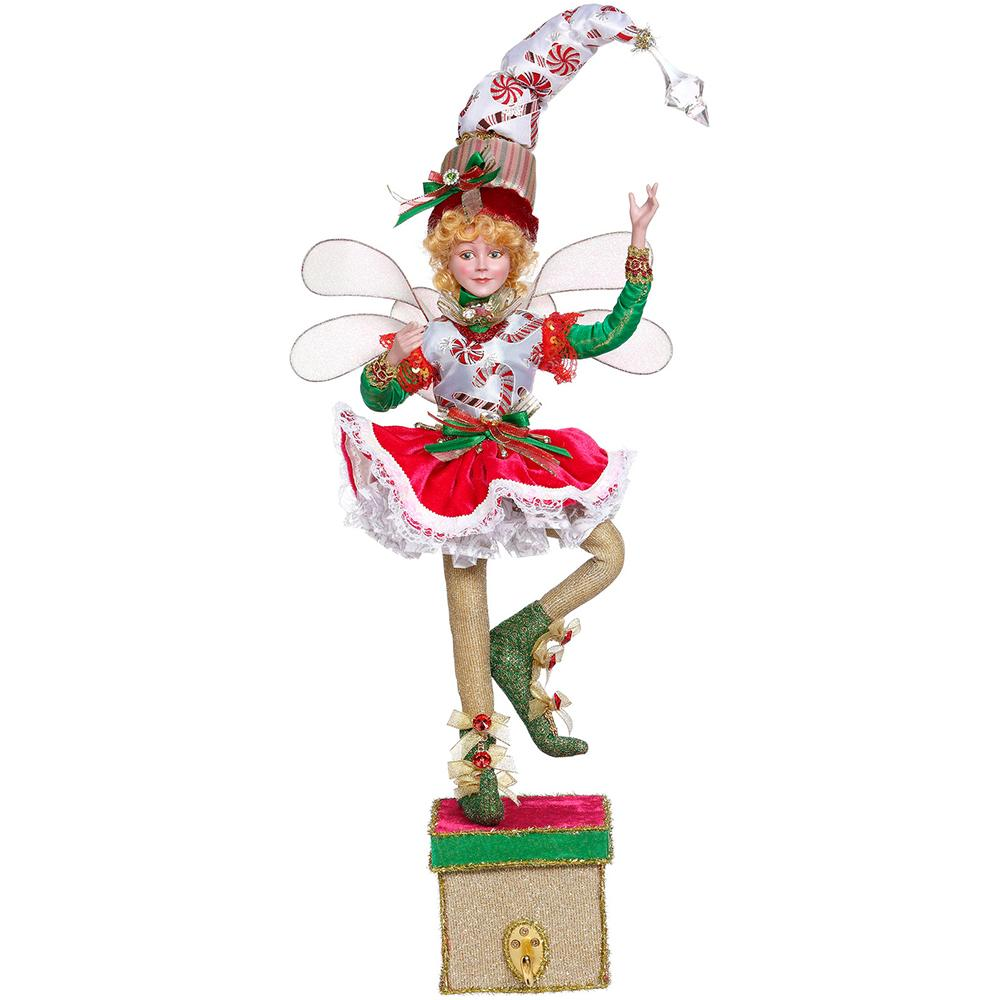 Peppermint Fairy a on Stand, 51cm - My Christmas