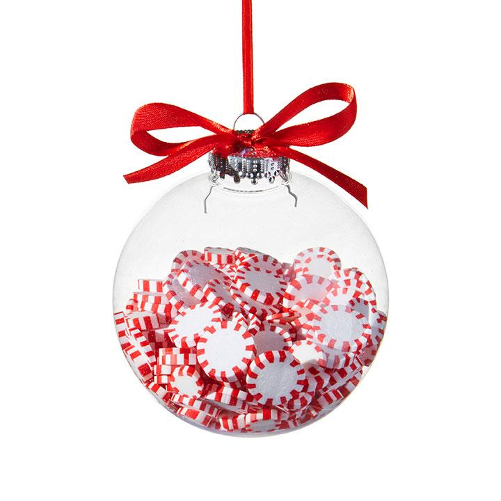 Peppermint Filled Ornament - My Christmas