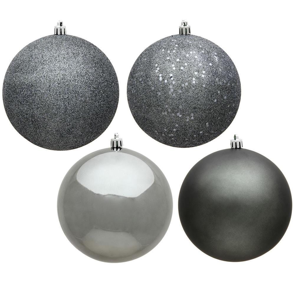 Pewter Baubles, Various Sizes - My Christmas