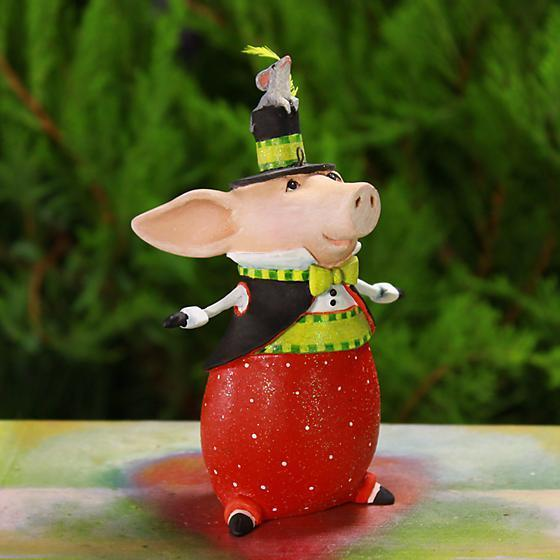 Pierre Pig Ornament - My Christmas