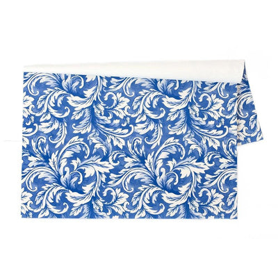 Placemat Blue Acanthus - My Christmas