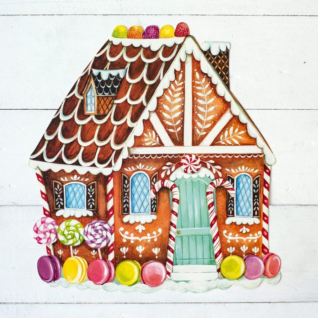 Placemat Pack, Gingerbread House - My Christmas