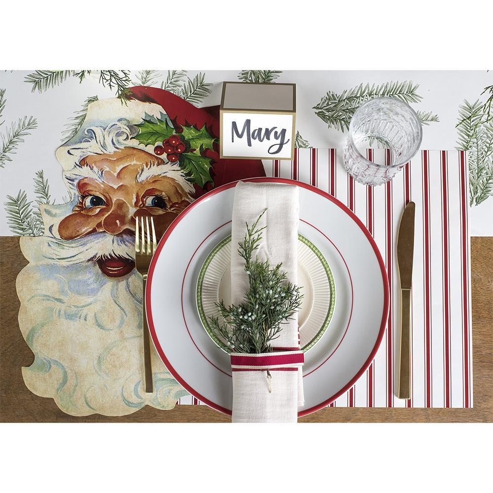 Placemat, Red Ribbon - My Christmas