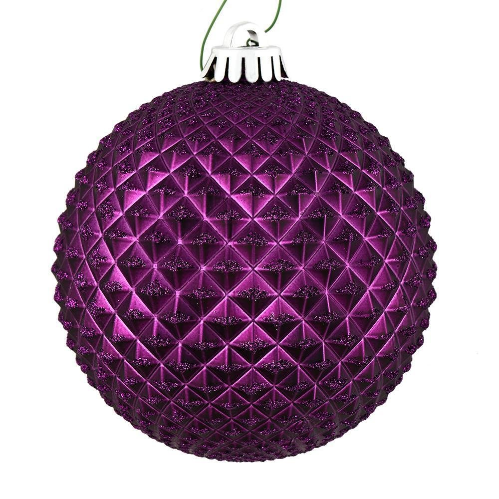 Plum Ball, 10cm - My Christmas