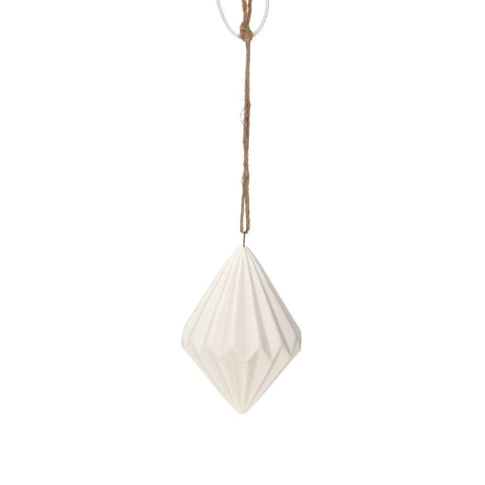 Porcelain Origami Ornament - My Christmas