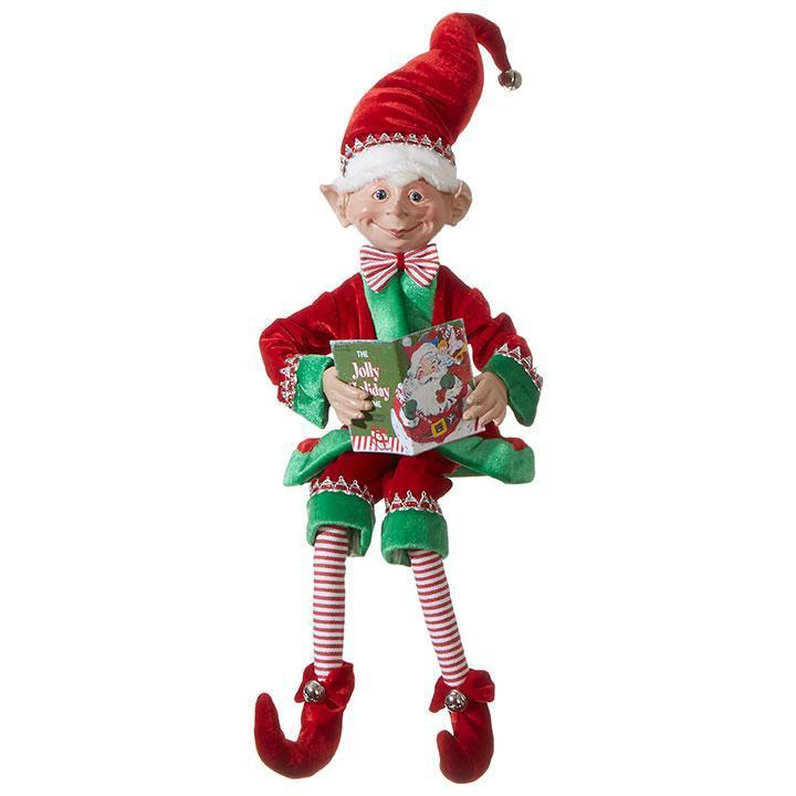 Posable 'Jolly Holiday' Elf, 76cm - My Christmas