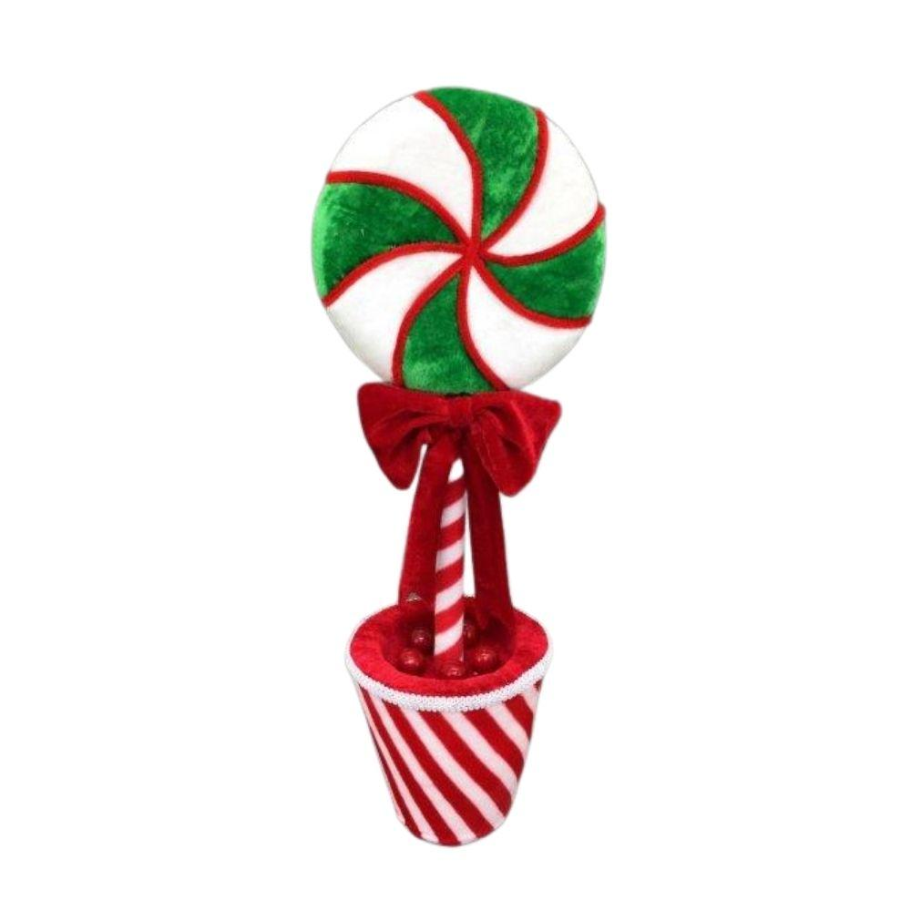 Potted Lolly Pop Med - My Christmas