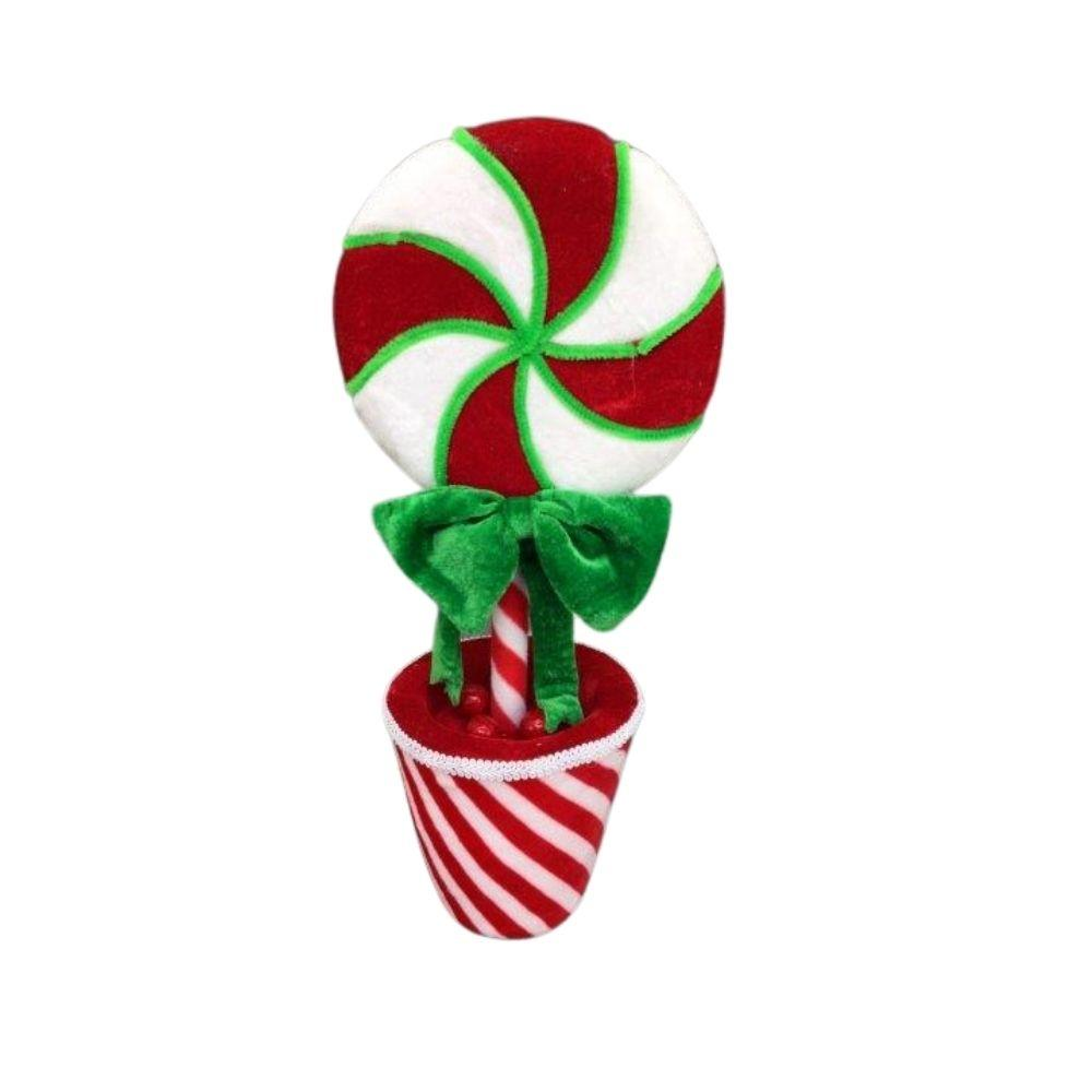 Potted Lolly Pop Sm - My Christmas
