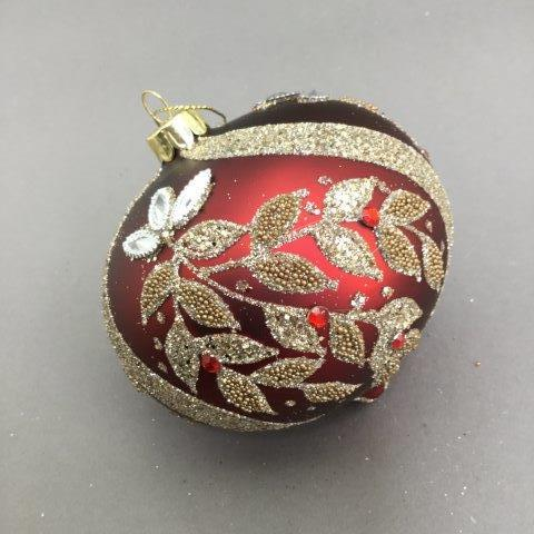 Red and Gold Leaf Onion - My Christmas