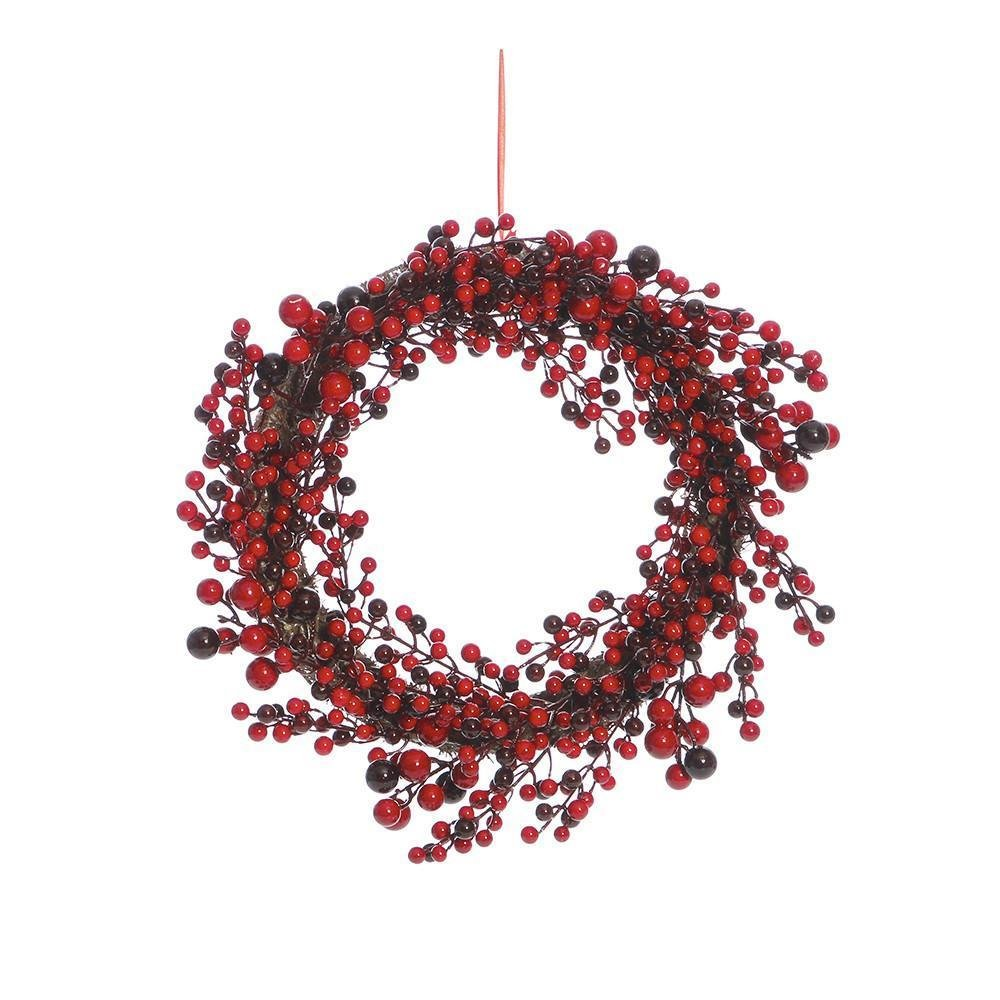 Red Berry Wreath, large - My Christmas