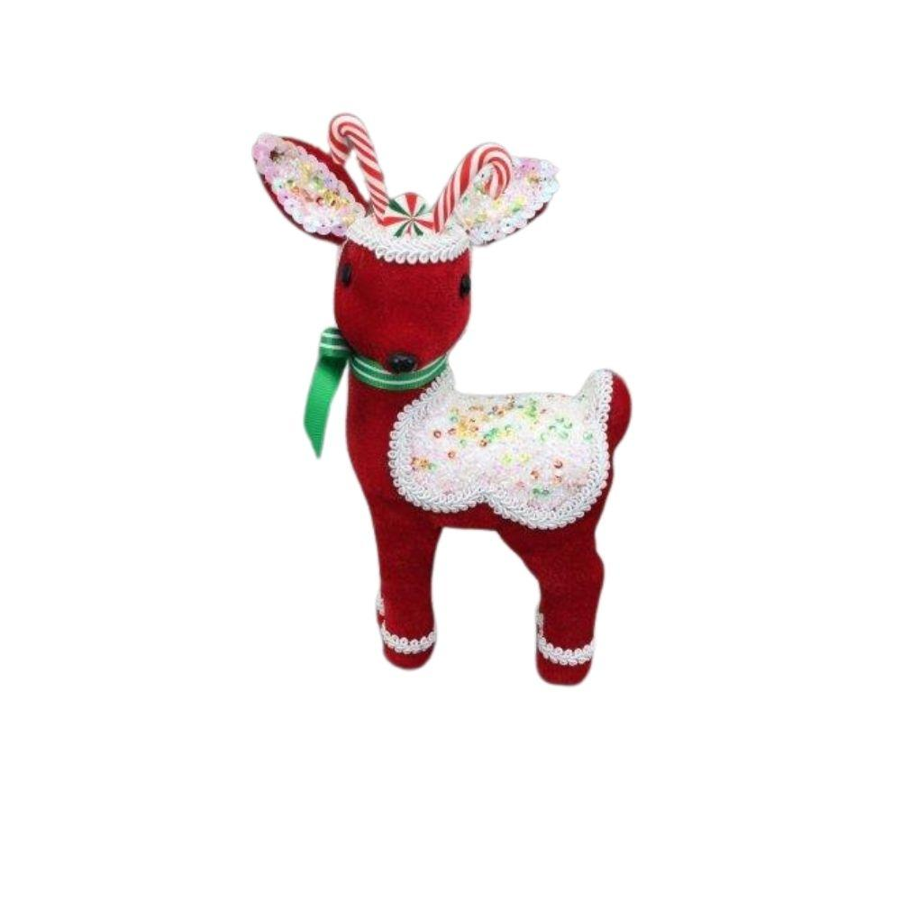 Red Candy Deer Sm - My Christmas