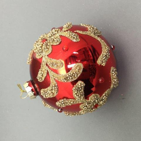 Red / Gold Ball - My Christmas