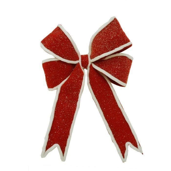 Red Pre Made Bow - My Christmas