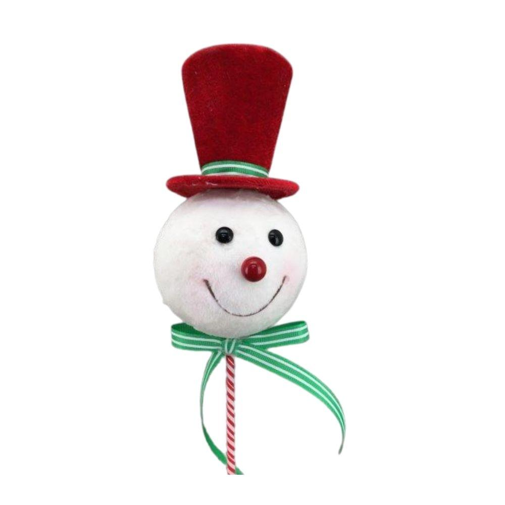 Red Snowman Pick - My Christmas