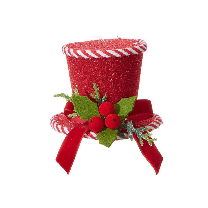 Red Top Hat, 12cm - My Christmas