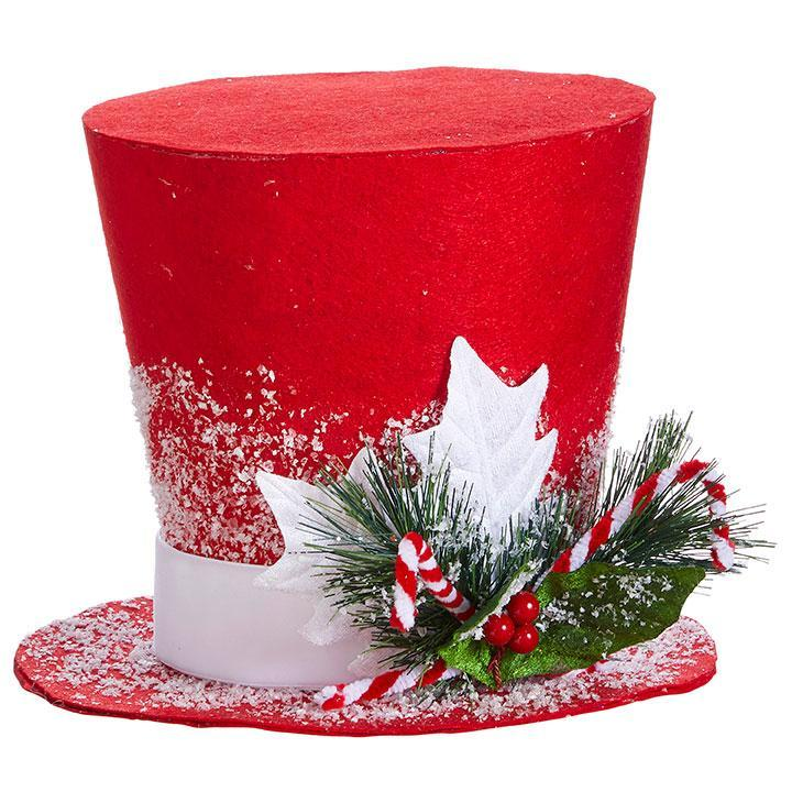 Red Top Hat, 22.5cm - My Christmas