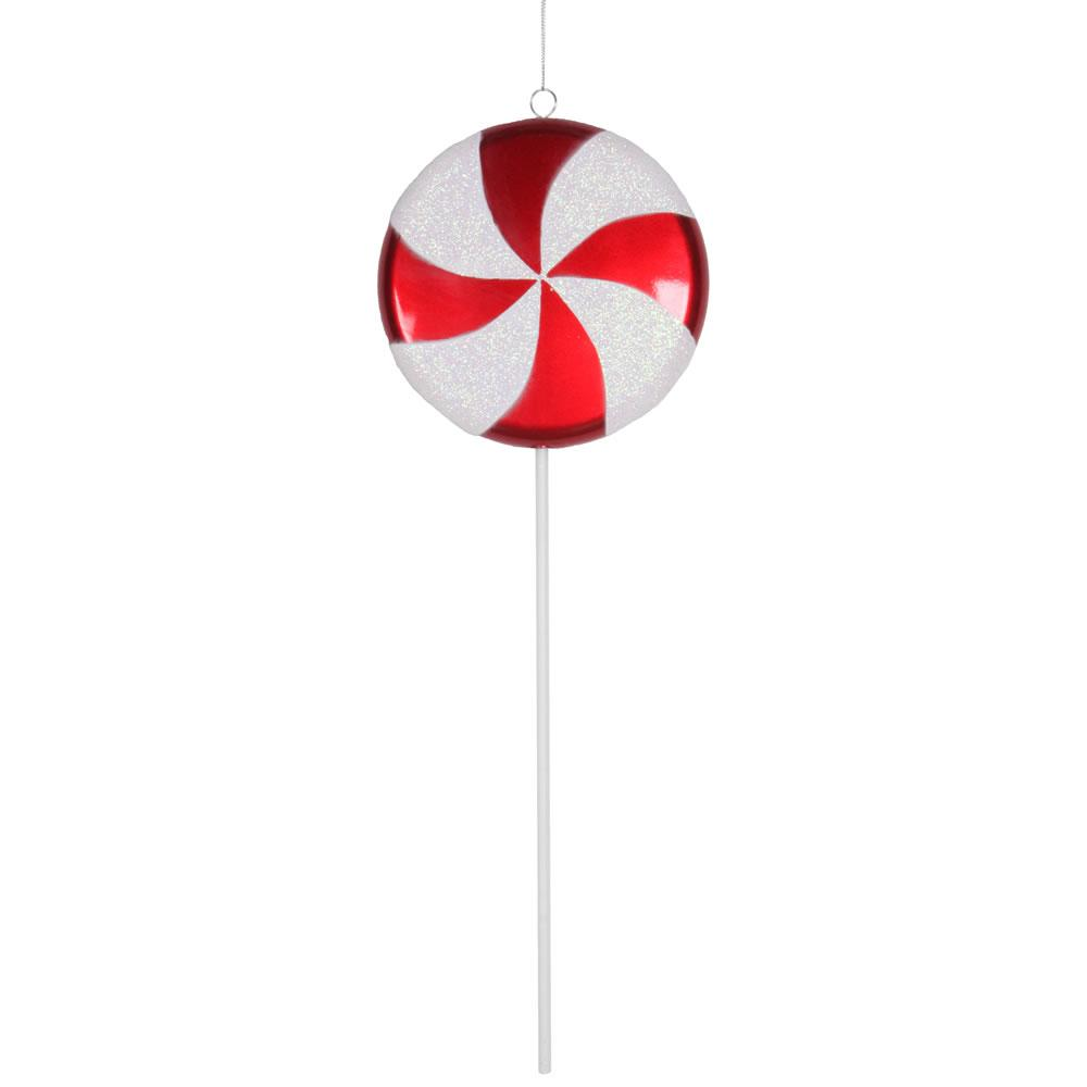 Red/White Candy Lollipop - My Christmas