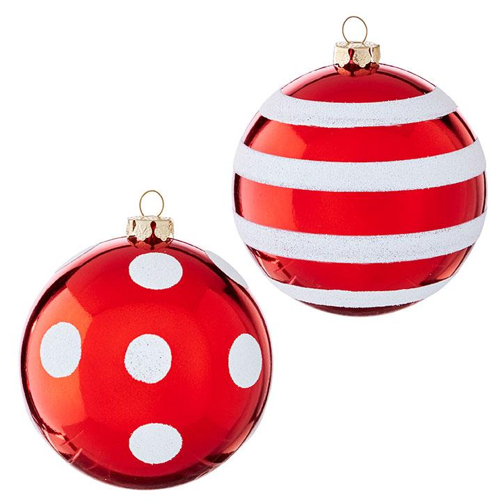 Red/White Ornament - My Christmas