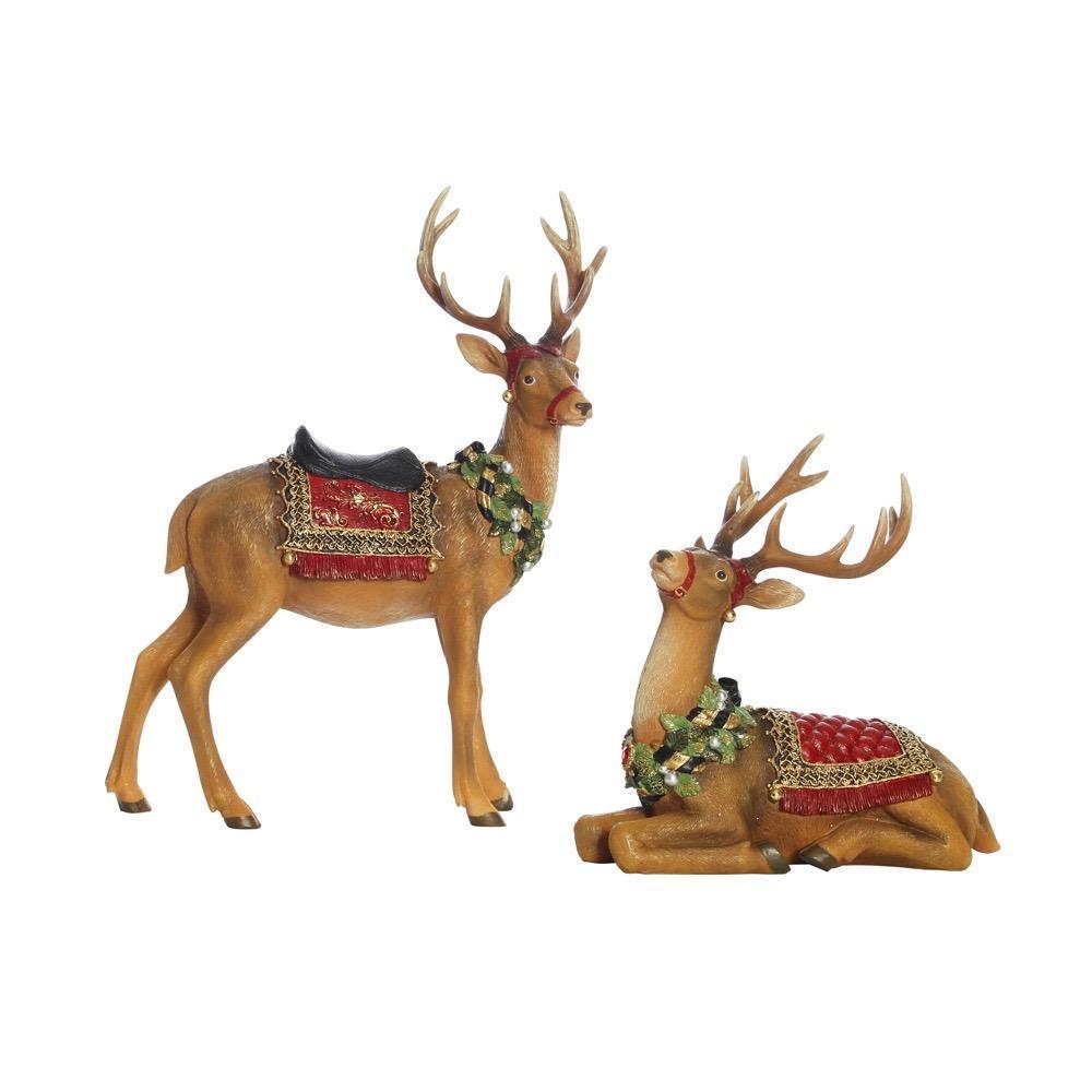 Reindeer decorations - My Christmas