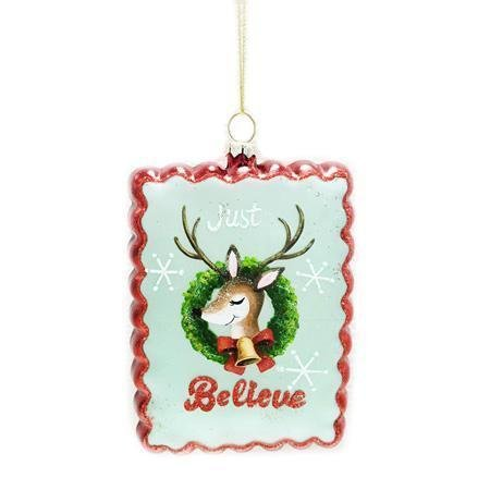 Retro Deer Ornament - My Christmas