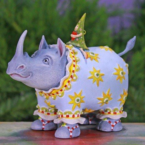 Roberta Rhino Ornament 15cm - My Christmas