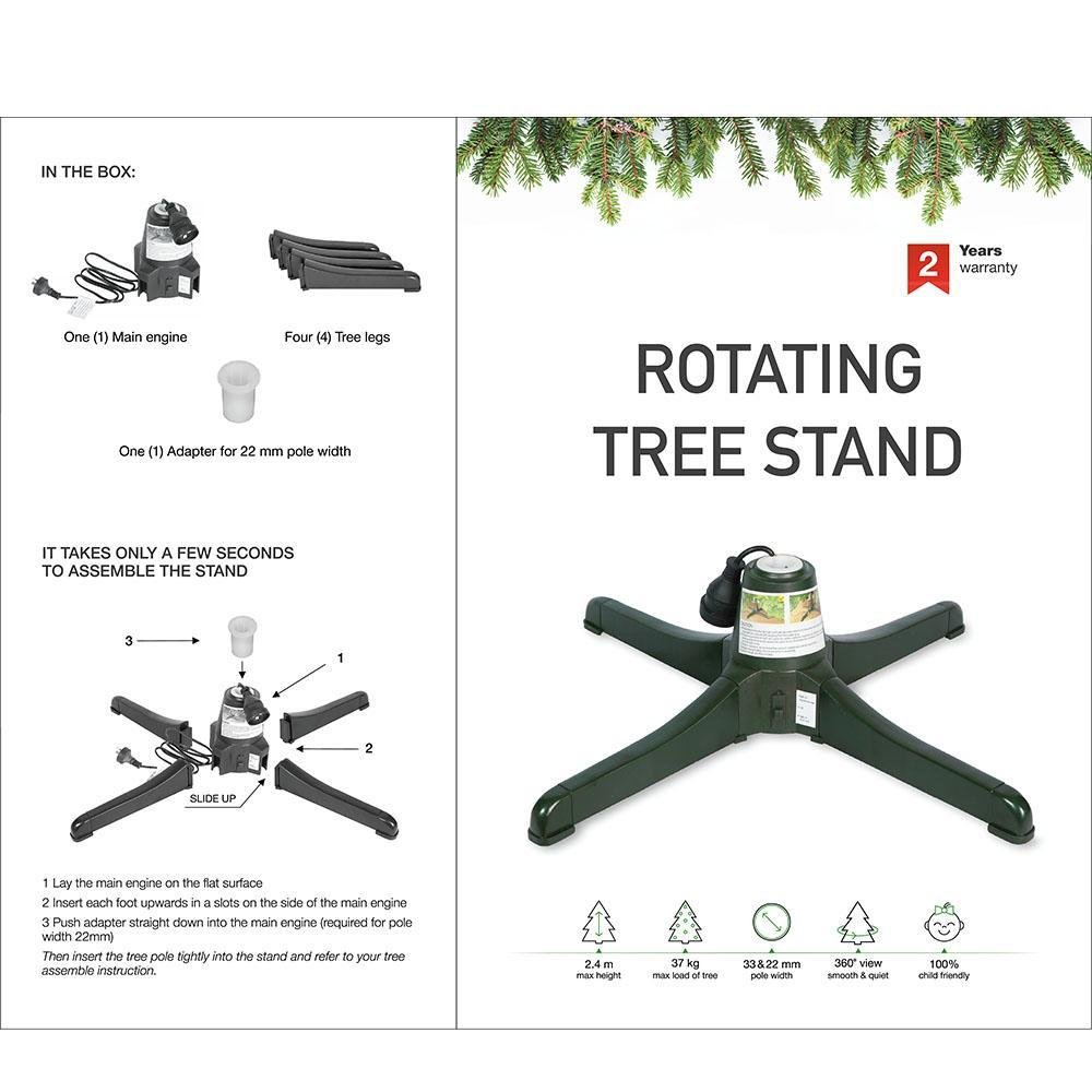 Rotating Tree Stand - My Christmas